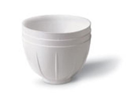 Zirc Mighty Mixer Bowl White (36 Pack)
