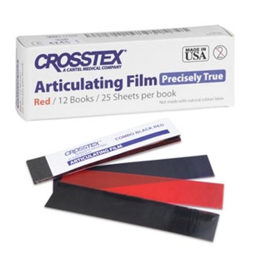 Crosstex Articulating Film Precisely True Thin Blue 300/box