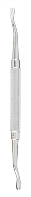 """Bone File, double end no. 12A pattern, 7"""" (17.8 cm), one end plain, other end cross serrated"""