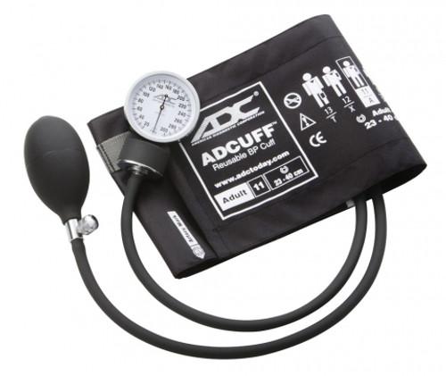 Prosphyg 760 Pocket Aneroid Sphyg Black, with Adult Cuff
