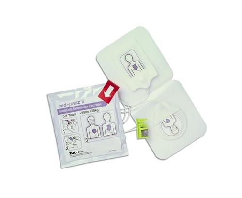 Zoll AED Plus Pedi-Padz II Pediatric Electrodes