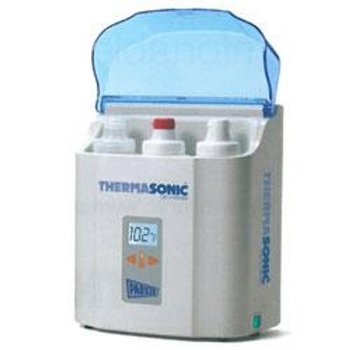 PARKER LABS THERMASONIC Three-Bottle LCD Gel Warmer (Plus 3 Dispensers of Ultrasound Gel)