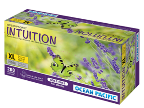 Ocean Pacific Intuition Nitrile Powder Free Gloves 200/box LARGE