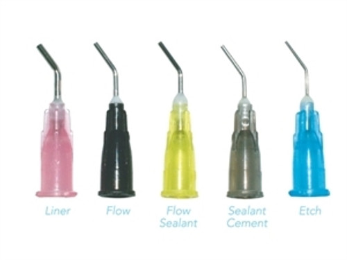 Pre-Bent Needle Tips 22G Gray, 100/pkg