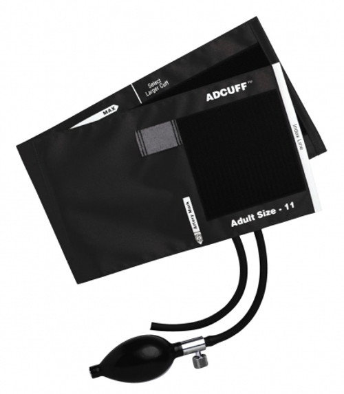 Adcuff Inflation System Black 2 Tube Adult