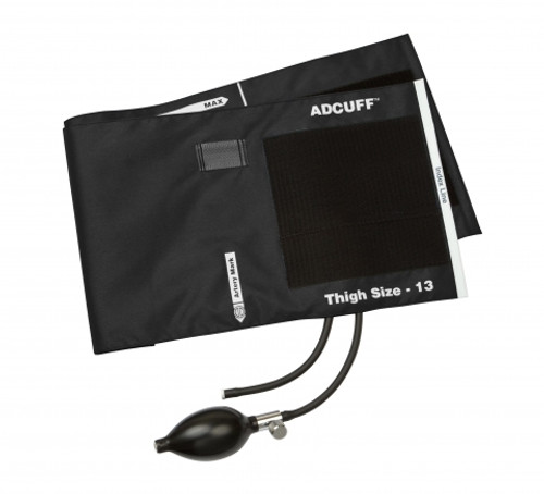Adcuff Inflation System Black 2 Tube Thigh