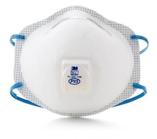 3M 8271, P95 Respirator Mask, 10/box