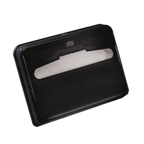 Tork Toilet Seat Cover Dispenser, Black