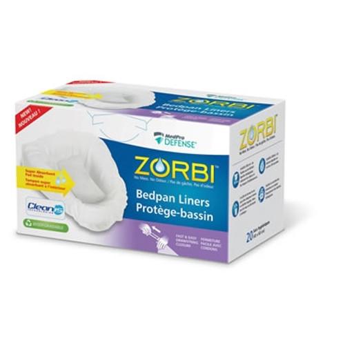 ZORBI Biodegradable Bedpan Liners