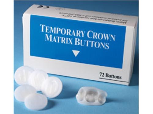 Advantage Dental Temporary Crown Matrix Buttons 72/box
