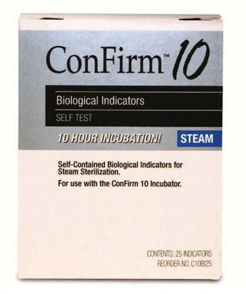 Crosstex Confirm 10 Biological Indicators, 25/box