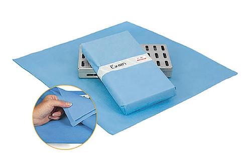 "Crosstex CSR Sterilization Wrap 18"" x 18"" 500/case"