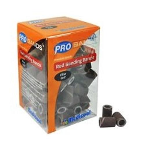 Podiatry Sanding Bands Medium 100/pkg