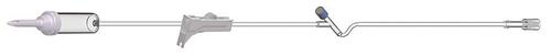 "Amsino Pediatric Basic IV Admin Set 60drops/ml, 72"", 1 Y Injection Site - Each"