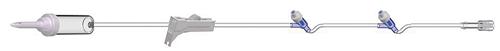 "AMSafe IV Admin Set 10drops/ml, 100"", 2 Needleless Y Sites - Each"