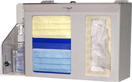 Respiratory Hygiene Station - Locking