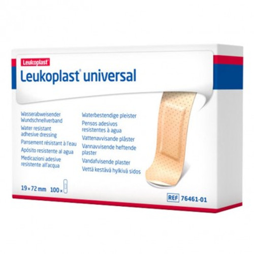 "Leukoplast Universal, 1.9 cm x 7.2 cm (.75"" x  3"")100/box"