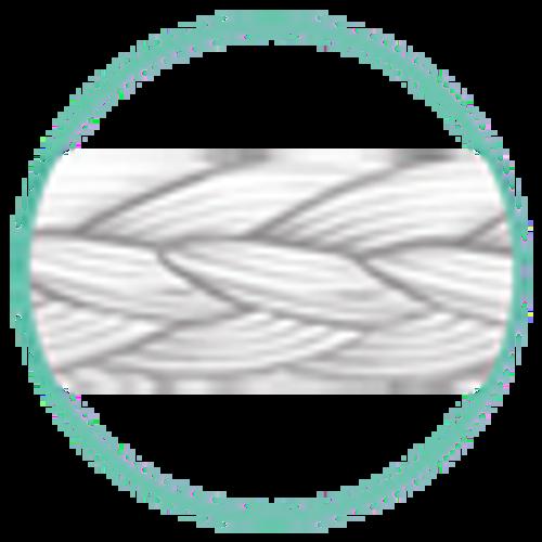 "J&J Ethicon Suture Mersilene Polyester White Braided 5-0 R690G, 18""/45cm, P-3, 12/box"