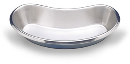 "Emesis Basin Stainless Steel 13oz 8""L"