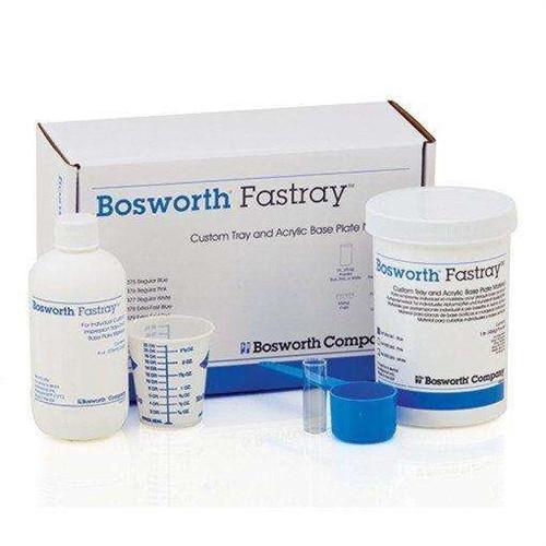 Keystone Bosworth Fastray Custom Tray and Acrylic Base Plate Material Bulk Kit, Regular Pink