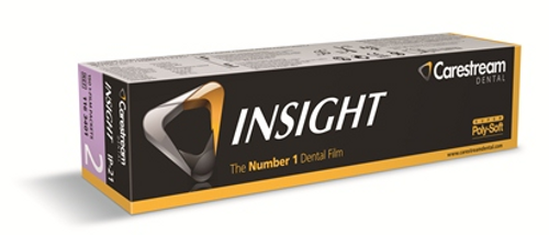 Kodak Carestream Insight Intraoral Film IP-21 Super Poly-Soft Packets, Size 2, 150/box