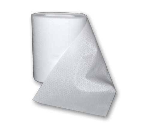 "Micro-Kleen3 Dry Wipe Refills 6"" x 10"" 110/roll, 12 rolls/case"