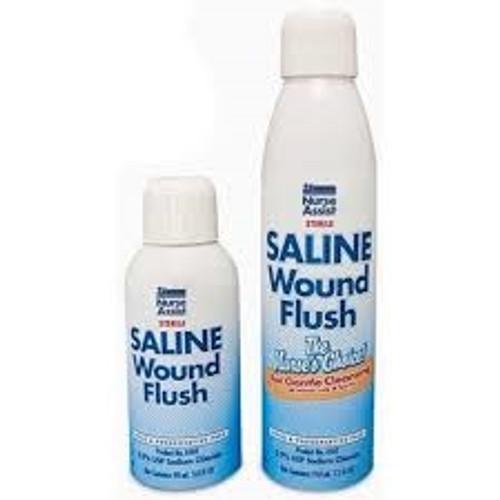 Sterile 0.9% Saline Wound Flush Spray Can 3oz