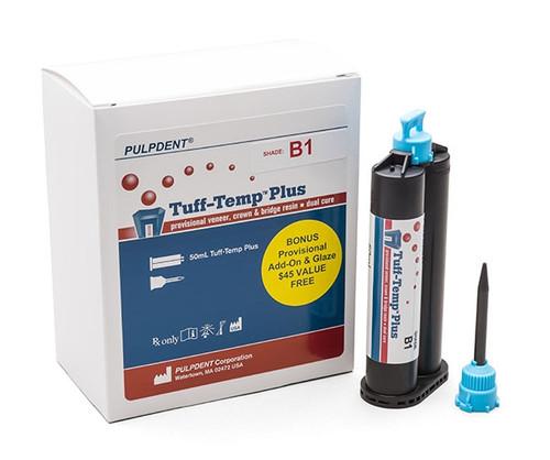Pulpdent Tuff-Temp Plus Provisional Resin, 50ml A1 Shade