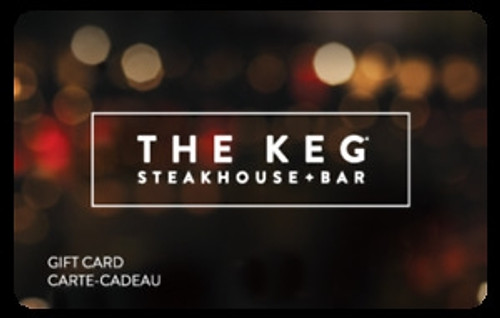 $25 The Keg Gift Card