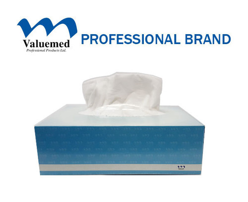 Valuemed Professional Facial Tissue Quick Wipes 135 wipes x 80 boxes/case