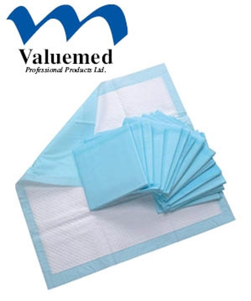 """Valuemed Professional Underpads 23"""" x 24"""" 50/bag"""