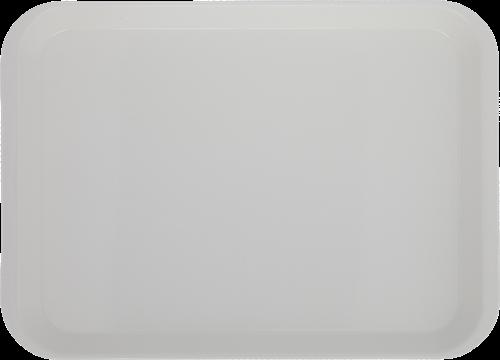 "B-Lok Flat Instrument Tray, Plastic, Ritter Size, 13-3/8"" x 9-5/8"" x 7/8"", - White"