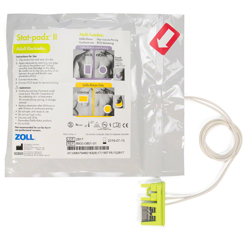 STAT PADZ II Adult Electrodes Multi-Function