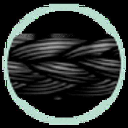 """J&J Ethicon Suture Perma Hand Silk Black Braided 0-0 SA66G, 18""""/45cm, No Needle, 17 strands/pkg x 12 pkg/box"""