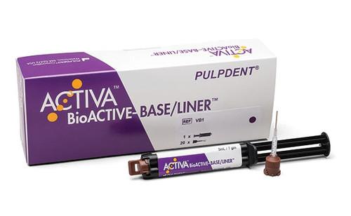 PulpDent ACTIVA BioACTIVE BASE/LINER, Single Pack