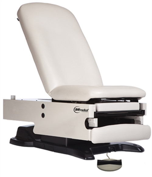 UMF Power100: Power Hi-Low, Manual Back Exam Table with Foot Control