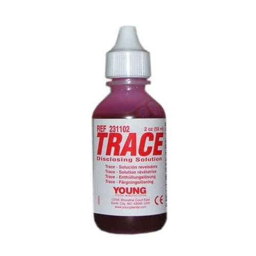 Young Disclosing Solution TRACE  2oz Bottle