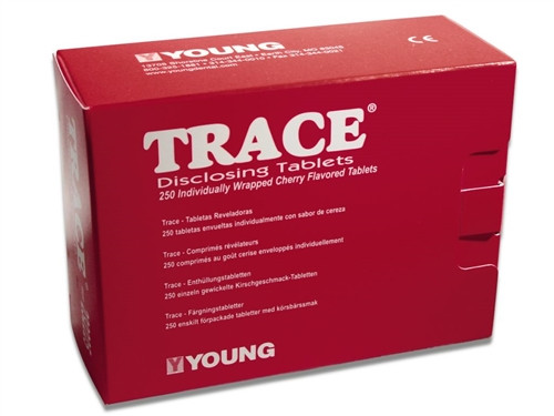 Young Disclosing Solution TRACE Tablets 250/box