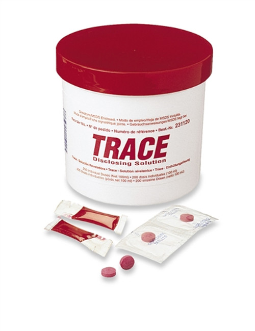 Young Disclosing Solution TRACE Unit Dose 200/box