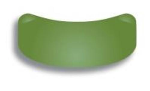 Garrison 3D XR Slick Bands 6.4mm Large Molar Matrices - Green 100/box