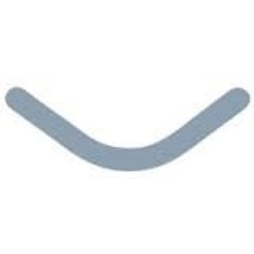 Garrison Slick Bands Right-Curve - Regular - Grey 100/pkg