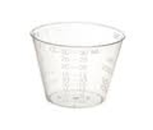 Valuemed Professional Plastic Medicine Cups 1oz  100/pkg