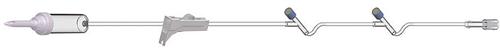 "IV Admin Set, 15 drops/ml, 93"", 2 Y Injection Sites 50/case"