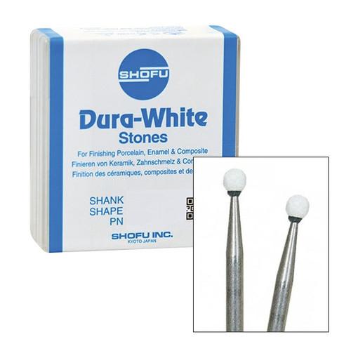 Shofu Dura-White Polishing Stones FG RD1  12/pkg