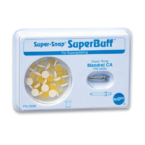 Shofu Super-Snap Superbuff Set
