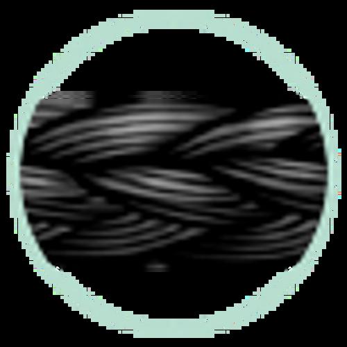 """J&J Ethicon Suture Perma Hand Silk Black Braided 4-0 734G, 18""""/45cm, J-1, 12/box"""