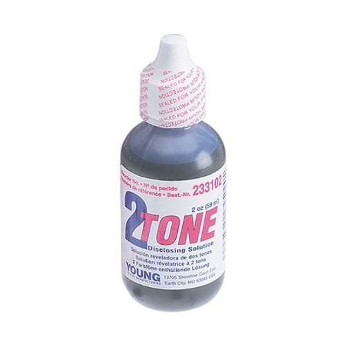 Young Disclosing Solution 2-Tone  2oz Bottle