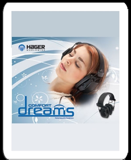 Comfort Dreams Noise Cancelling Headphones Intro Kit with (100) Ear Cushions/Foam Inserts
