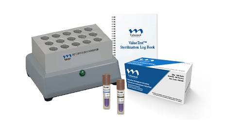 ValueTest 24 Hour Biological Monitoring Starter Kit (Includes: Log Book, Incubator, 100 BI's)