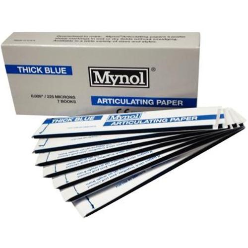 "Mynol Articulating Paper X-Thin Blue 0.0025"" 63 Microns 144/box"